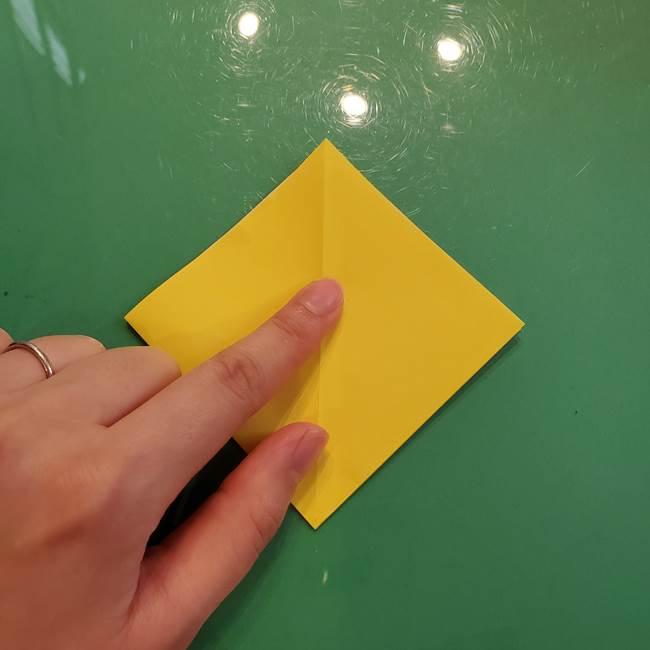 どんぐりの折り紙の折り方作り方(立体)①共通(7)