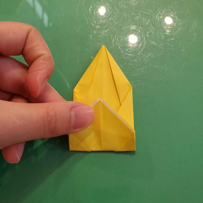どんぐりの折り紙の折り方作り方(立体)②実(12)