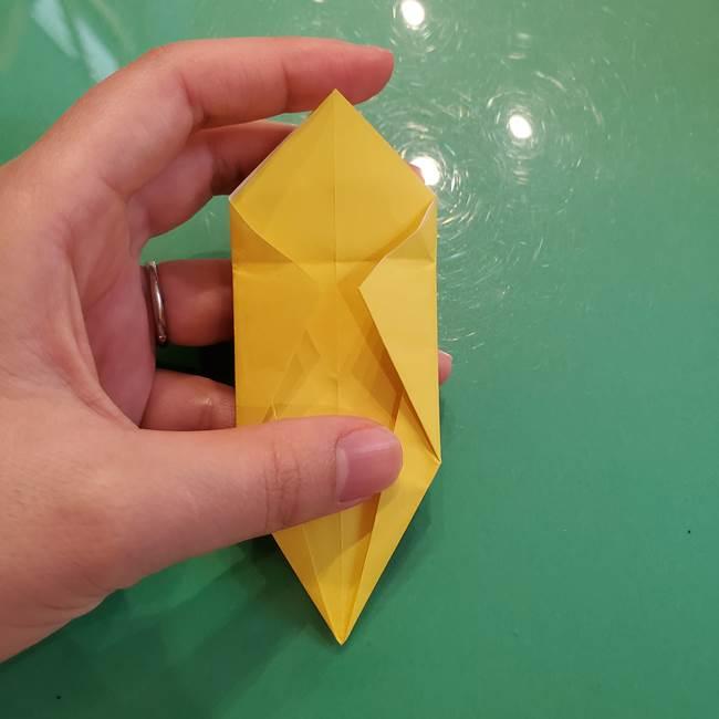 どんぐりの折り紙の折り方作り方(立体)②実(14)