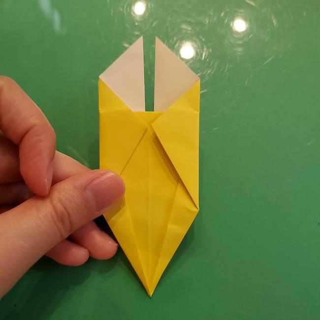 どんぐりの折り紙の折り方作り方(立体)②実(19)