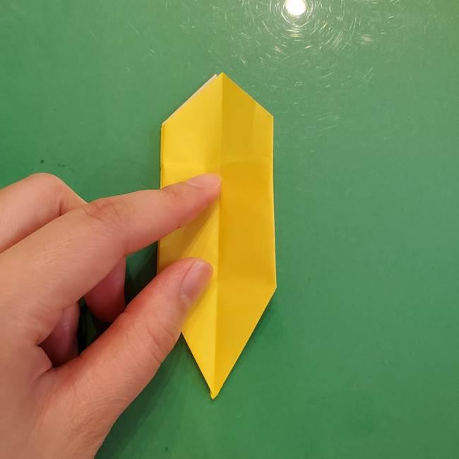 どんぐりの折り紙の折り方作り方(立体)②実(21)