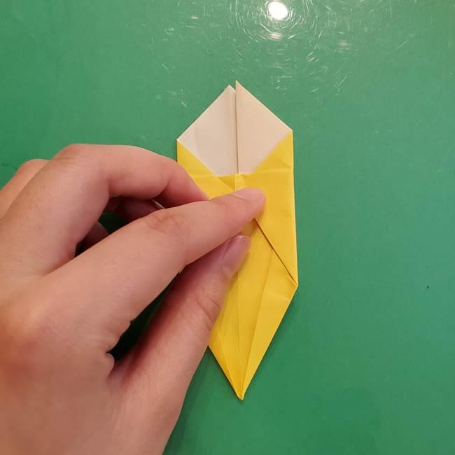 どんぐりの折り紙の折り方作り方(立体)②実(22)