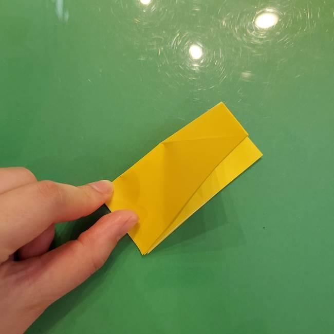 どんぐりの折り紙の折り方作り方(立体)②実(4)