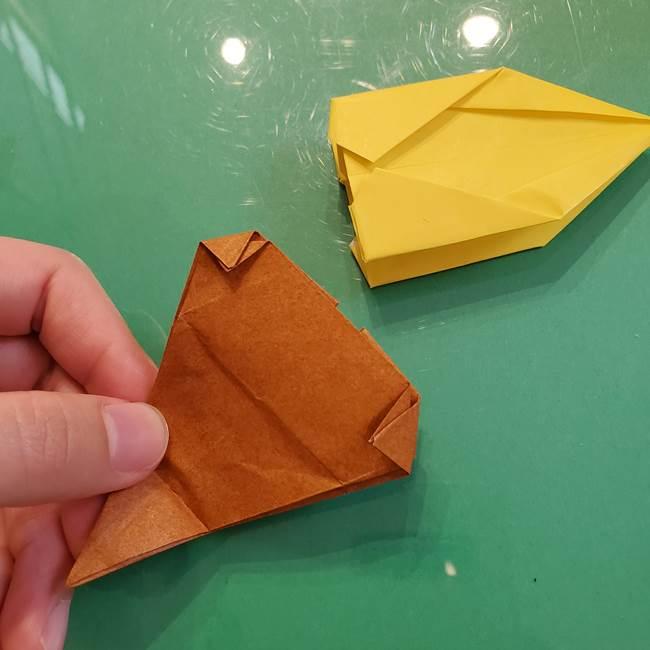 どんぐりの折り紙の折り方作り方(立体)④組み合わせ(5)