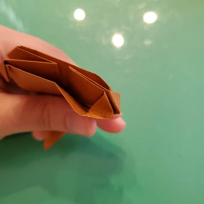どんぐりの折り紙の折り方作り方(立体)④組み合わせ(7)