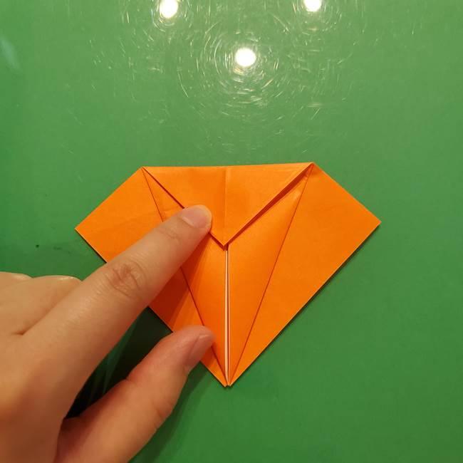 コオロギの折り紙(立体)の折り方作り方(10)