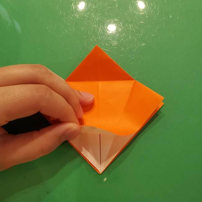 コオロギの折り紙(立体)の折り方作り方(12)