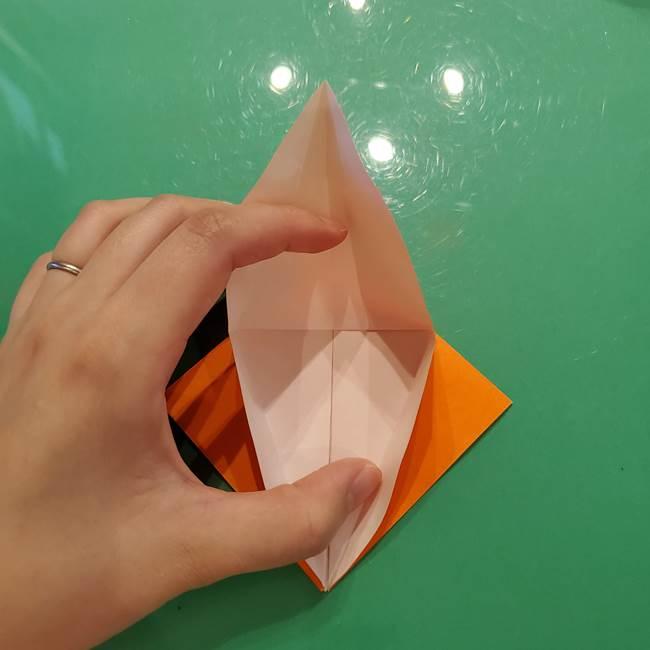 コオロギの折り紙(立体)の折り方作り方(13)