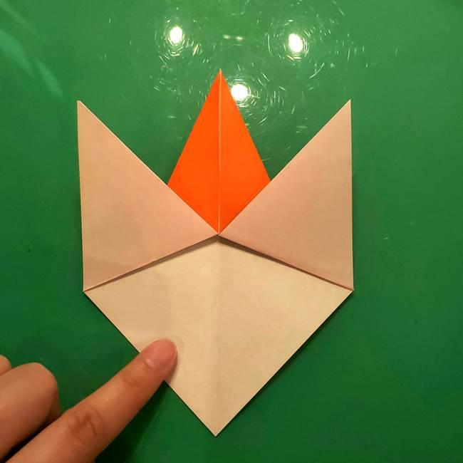 コオロギの折り紙(立体)の折り方作り方(16)