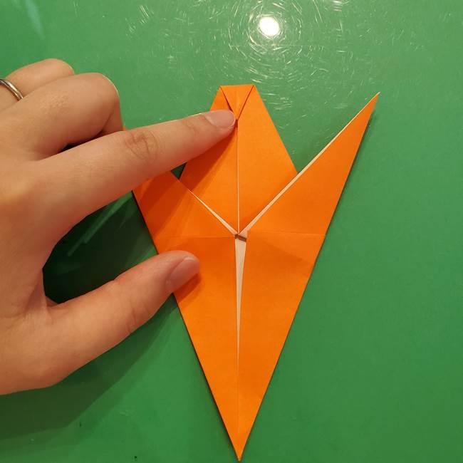 コオロギの折り紙(立体)の折り方作り方(18)