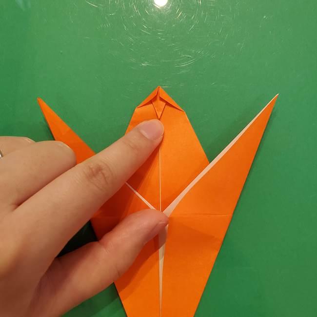 コオロギの折り紙(立体)の折り方作り方(19)