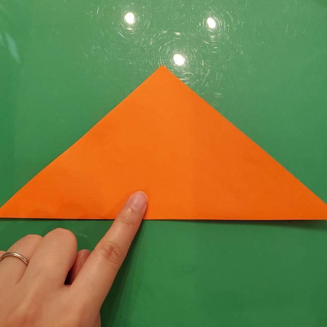 コオロギの折り紙(立体)の折り方作り方(2)