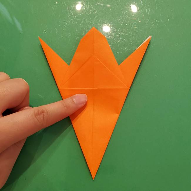 コオロギの折り紙(立体)の折り方作り方(20)