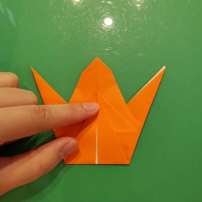 コオロギの折り紙(立体)の折り方作り方(21)