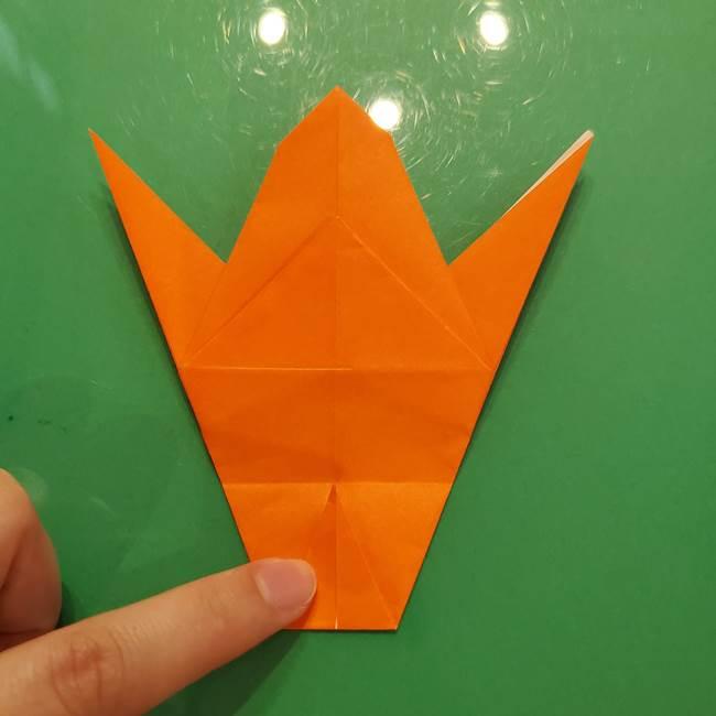コオロギの折り紙(立体)の折り方作り方(23)