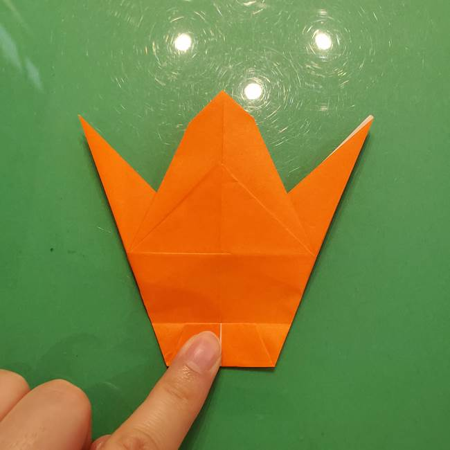 コオロギの折り紙(立体)の折り方作り方(24)