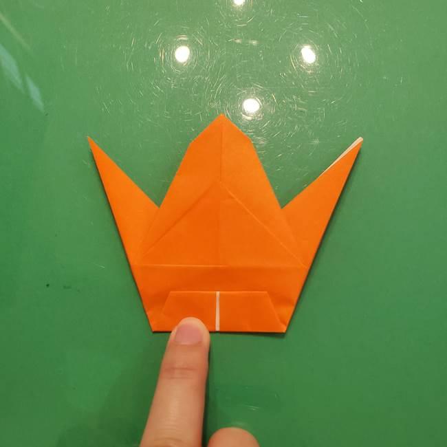 コオロギの折り紙(立体)の折り方作り方(25)