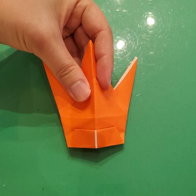 コオロギの折り紙(立体)の折り方作り方(26)