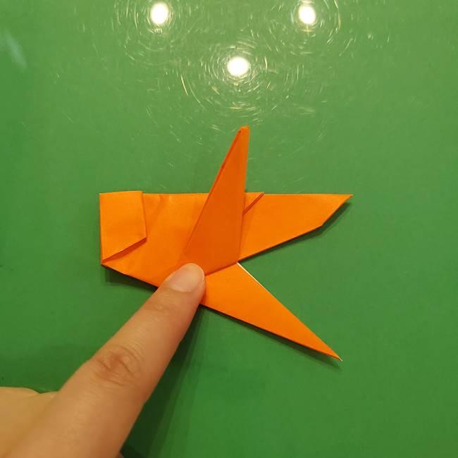 コオロギの折り紙(立体)の折り方作り方(28)