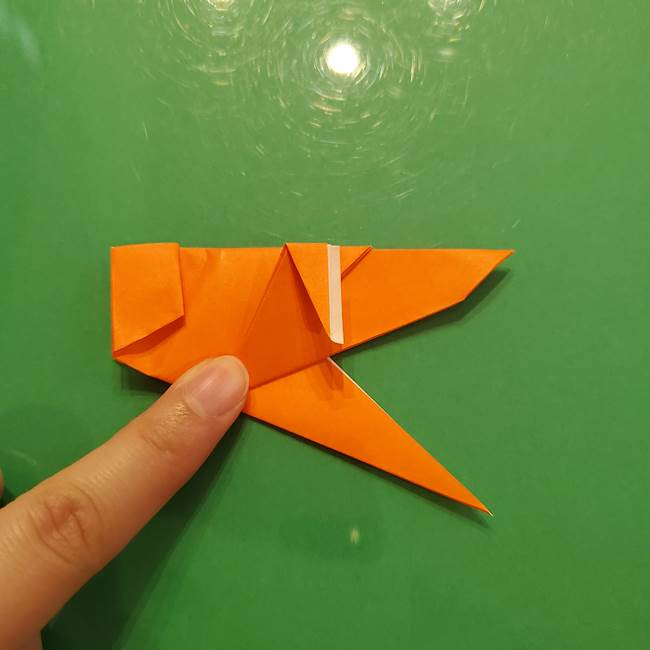 コオロギの折り紙(立体)の折り方作り方(29)
