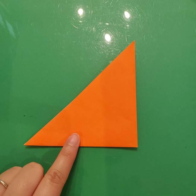 コオロギの折り紙(立体)の折り方作り方(3)