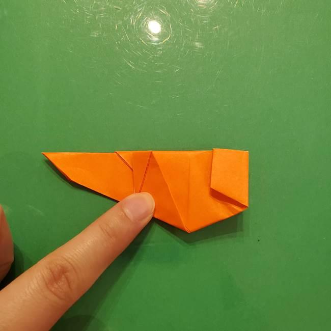 コオロギの折り紙(立体)の折り方作り方(30)
