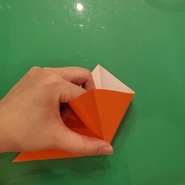 コオロギの折り紙(立体)の折り方作り方(4)