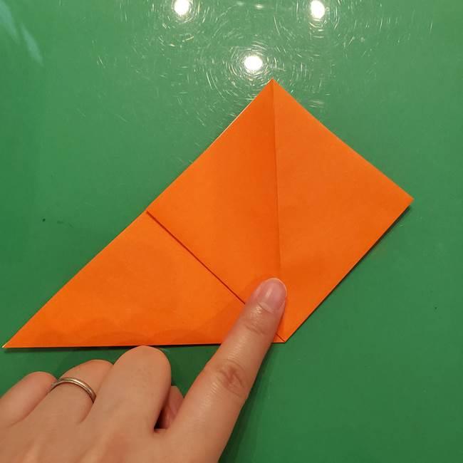 コオロギの折り紙(立体)の折り方作り方(5)