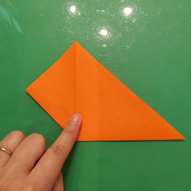コオロギの折り紙(立体)の折り方作り方(6)