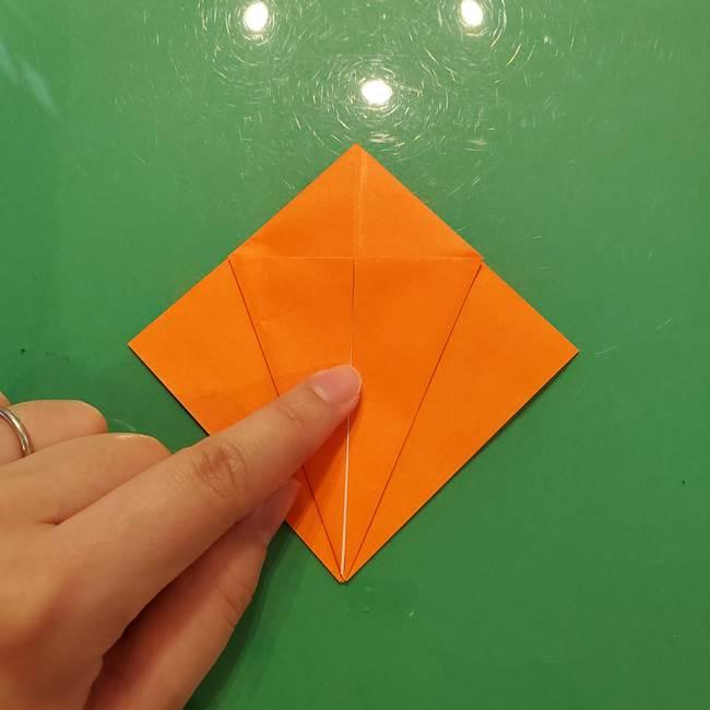 コオロギの折り紙(立体)の折り方作り方(9)