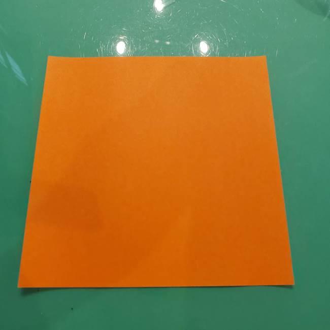 コオロギの折り紙(立体)用意するもの
