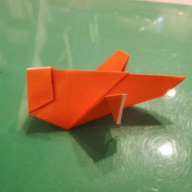 コオロギの折り紙 立体的な折り方★秋の虫の簡単な作り方を紹介!