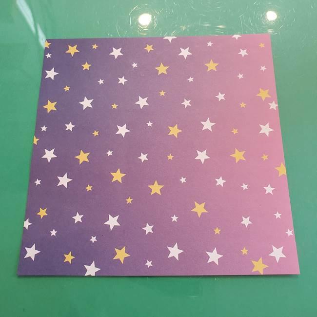 ハロウィン かぼちゃの折り紙(切り抜き)*用意するもの(1)