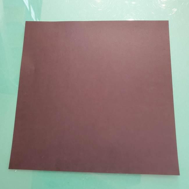 折り紙でコウモリがリアルにつくれる!用意するもの