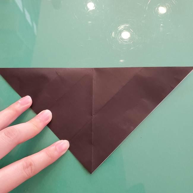 折り紙のコウモリがリアル!折り方作り方(立体)①前半(11)