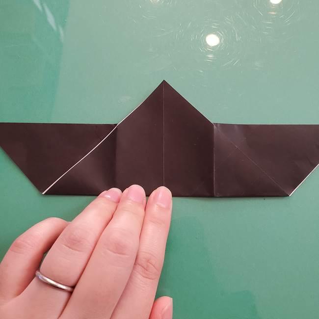 折り紙のコウモリがリアル!折り方作り方(立体)①前半(18)