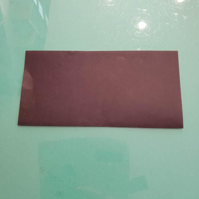 折り紙のコウモリがリアル!折り方作り方(立体)①前半(2)