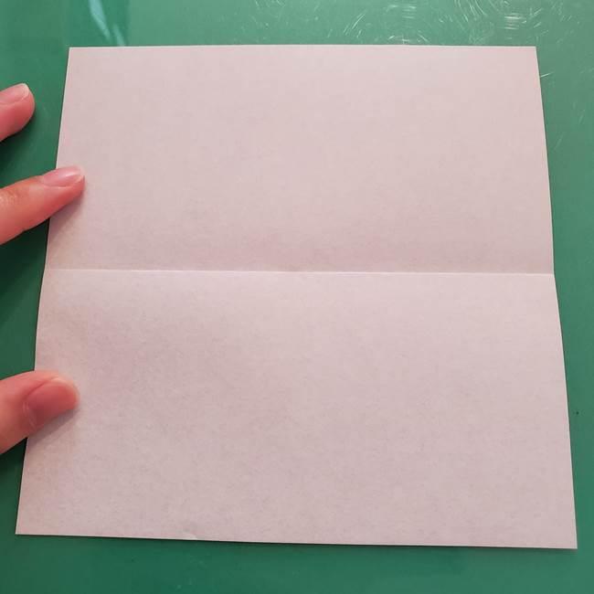 折り紙のコウモリがリアル!折り方作り方(立体)①前半(3)
