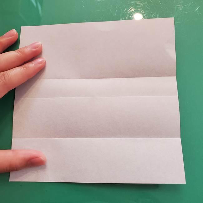折り紙のコウモリがリアル!折り方作り方(立体)①前半(7)