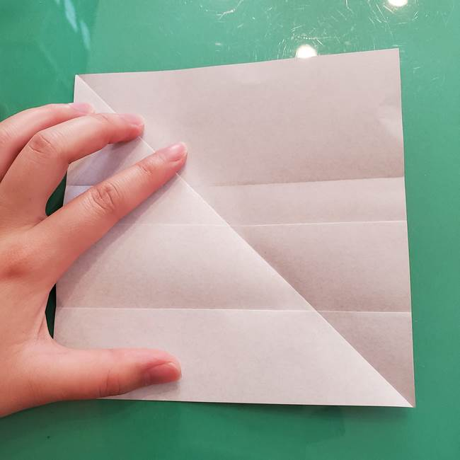 折り紙のコウモリがリアル!折り方作り方(立体)①前半(9)