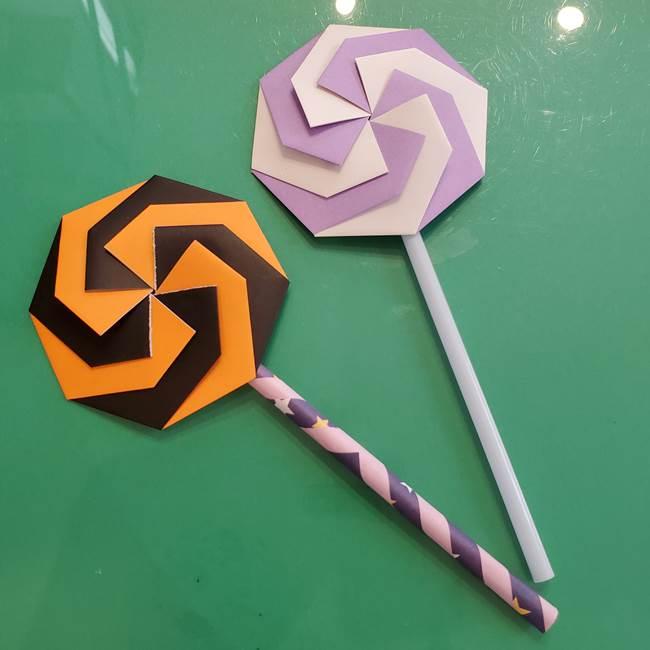 折り紙のペロペロキャンディの折り方は簡単♪幼稚園年長さんから作れる作り方!