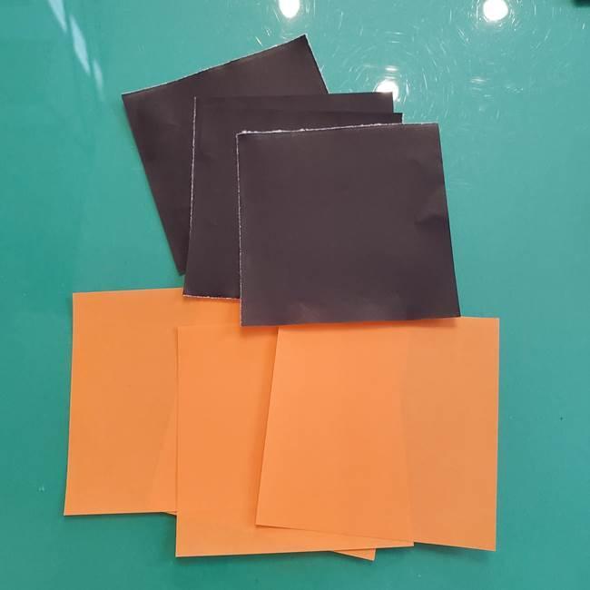 折り紙のペロペロキャンディの簡単な折り方作り方①キャンディ(1)