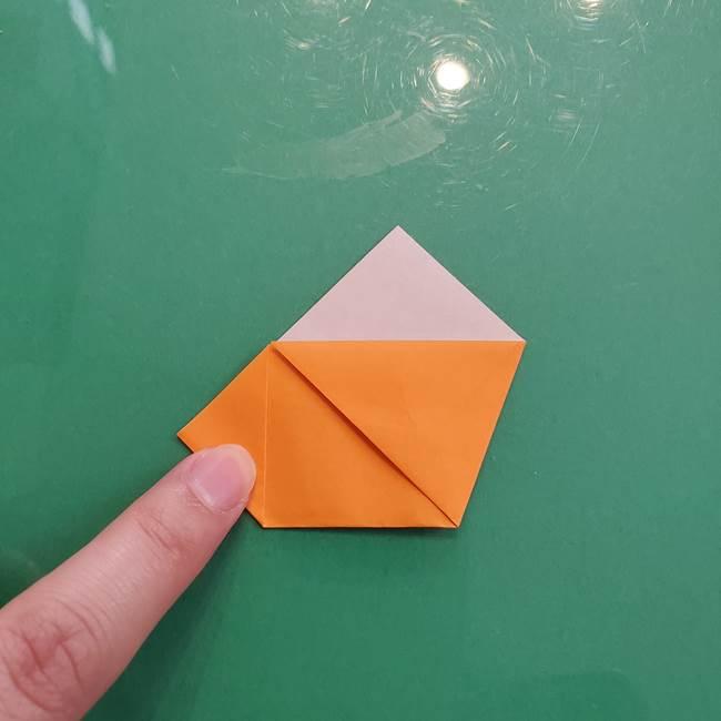 折り紙のペロペロキャンディの簡単な折り方作り方①キャンディ(10)