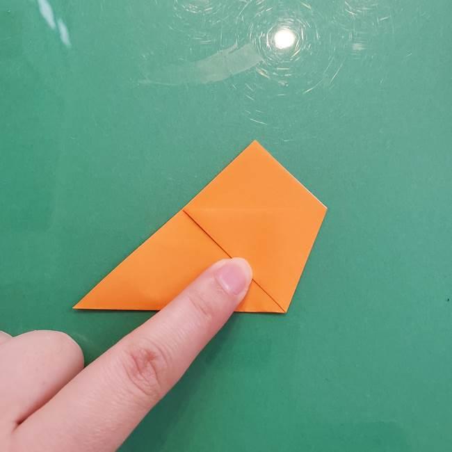 折り紙のペロペロキャンディの簡単な折り方作り方①キャンディ(4)