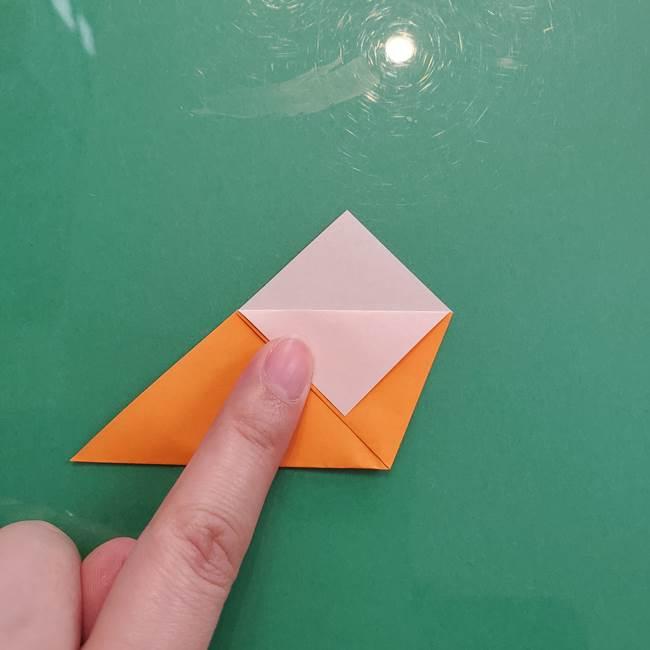 折り紙のペロペロキャンディの簡単な折り方作り方①キャンディ(5)