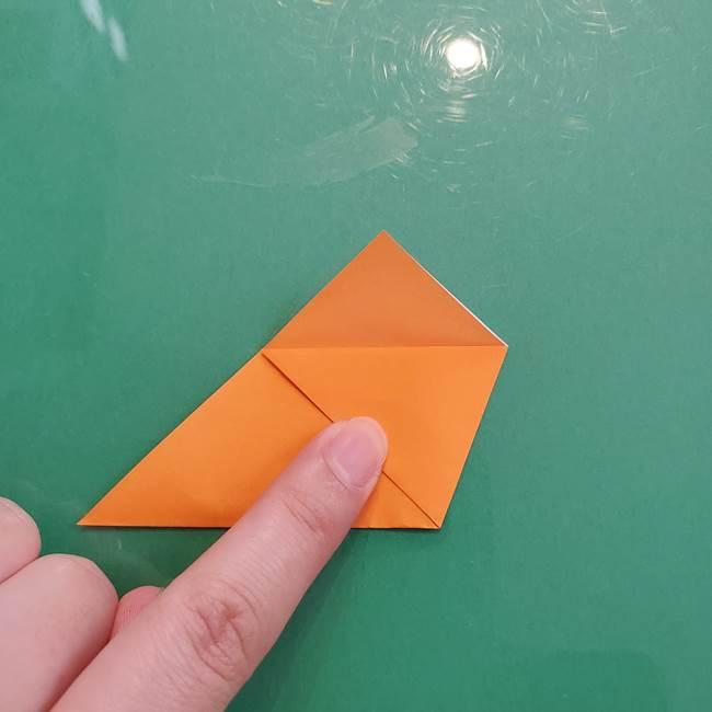 折り紙のペロペロキャンディの簡単な折り方作り方①キャンディ(6)
