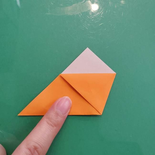 折り紙のペロペロキャンディの簡単な折り方作り方①キャンディ(9)