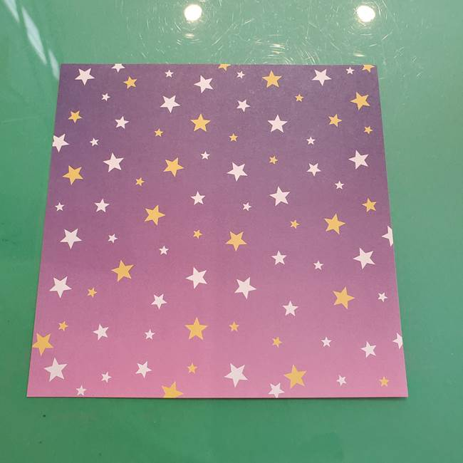 折り紙のペロペロキャンディの簡単な折り方作り方②スティック(1)