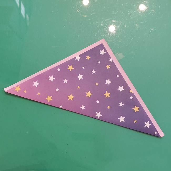 折り紙のペロペロキャンディの簡単な折り方作り方②スティック(2)