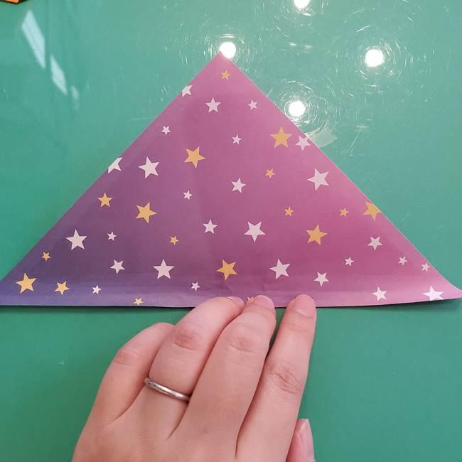 折り紙のペロペロキャンディの簡単な折り方作り方②スティック(3)